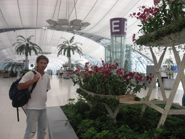 длительная стыковка в Дубае
