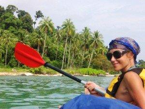 на байдарке по островам таиланда