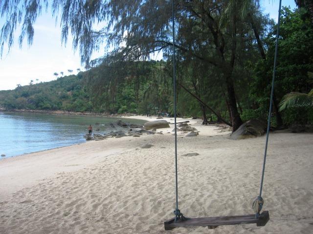 ко пангап пляж коконат