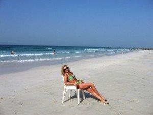 пляжи ОАЭ