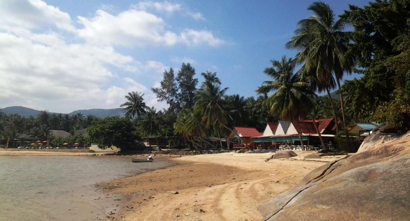 пляж Бан Кай возле залива Хин Лор