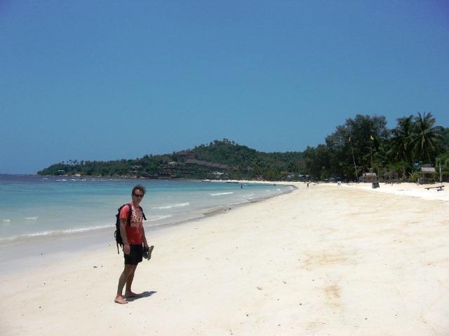 западные пляжи ко пангана