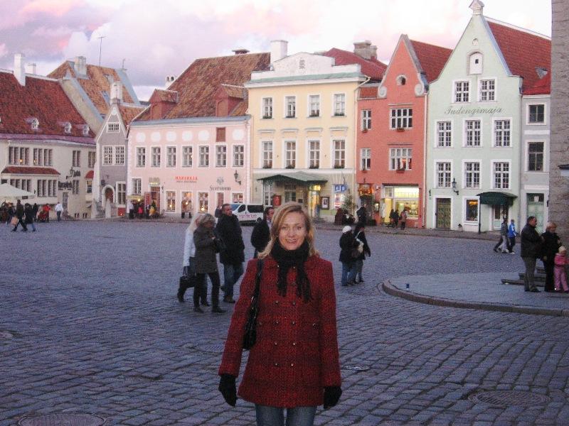 Ратушная площадь Таллин