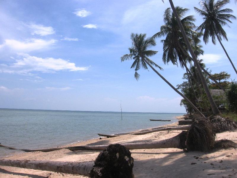 Остров Панган пляж Бан Тай