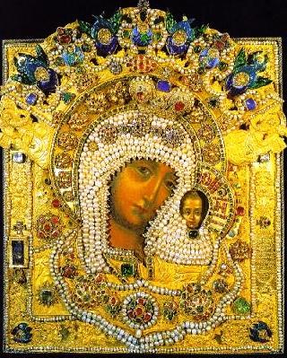 икона Казанской Божьей Матер
