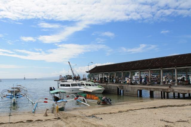 Пристань в Падангбей Padangbai