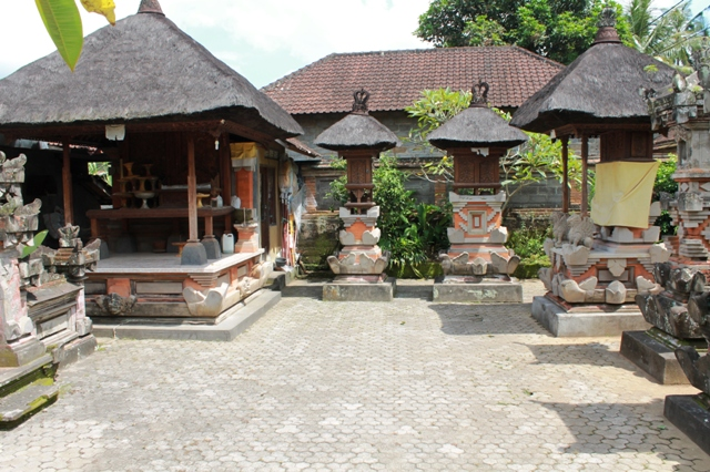 домашний храм в Убуде