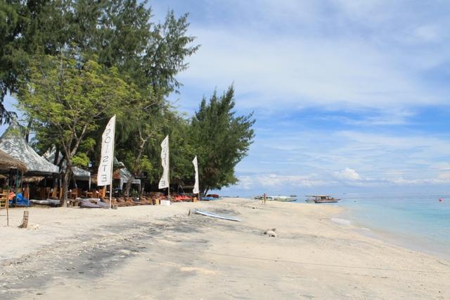 Пляж Гили Траванган