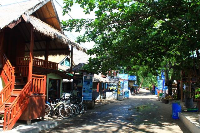 Гили Траванган прокат велосипедов