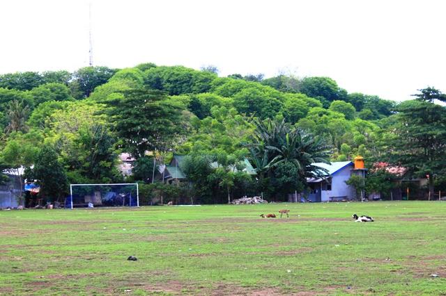 Футбольное поле на Траванган