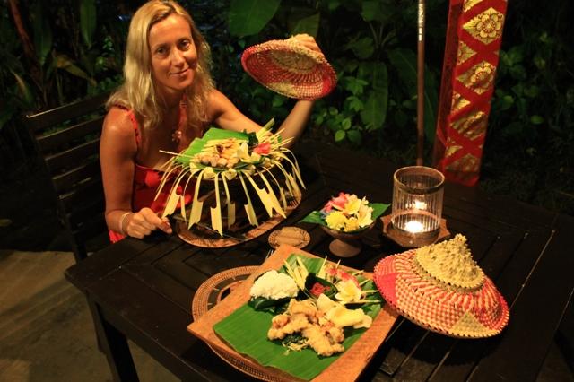 новогодний ужин на бали