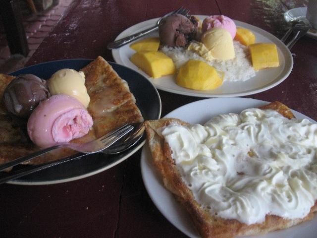 мороженое в Таиланде