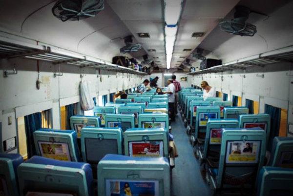 сhair AC классы вагонов Индии