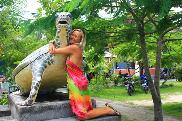 Бали остров черепах