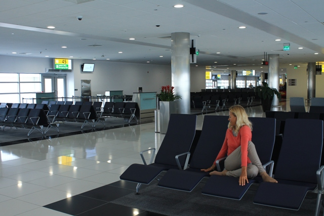 аэропорт Абу - Даби где отдохнуть
