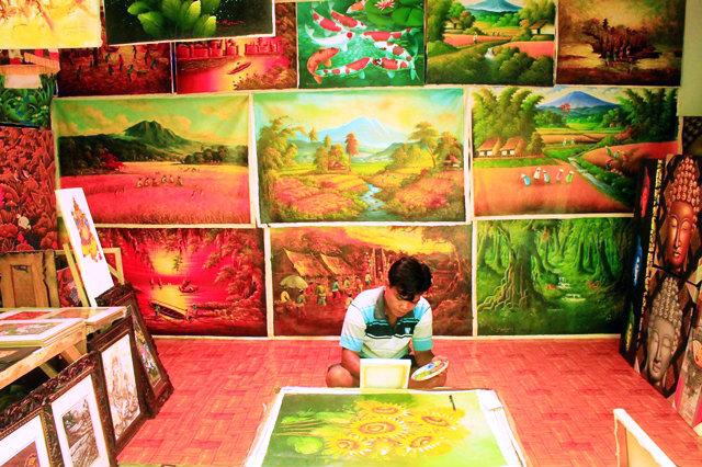 картины Бали купить