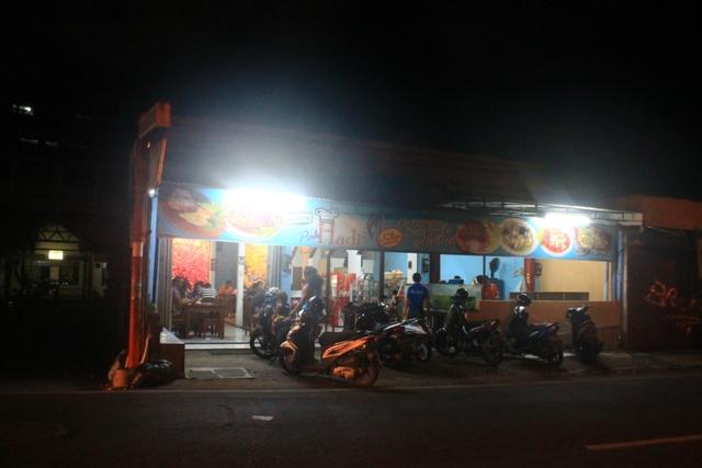 Бали Кута варунг Хади