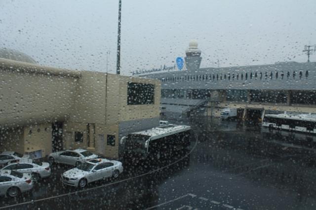 дождь в Абу - Даби