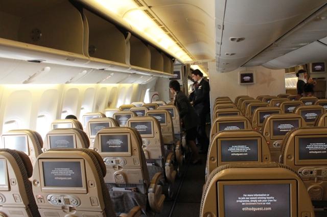 самолеты Этихад