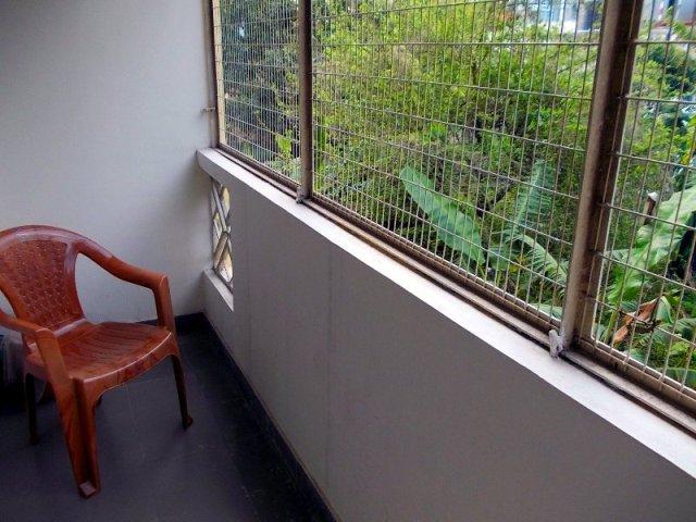 балкон в ашраме индии