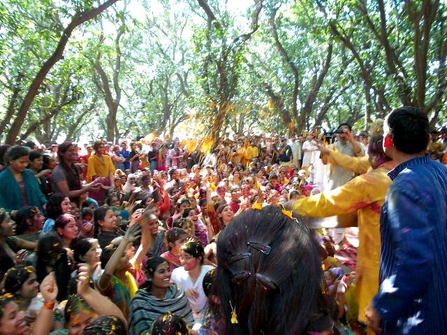 праздник холи индия