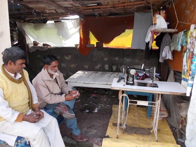 швейная мастерская в Индии