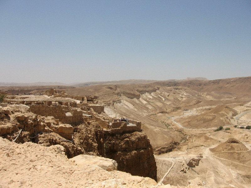 крепости Масада