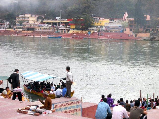 лодки Ришекеш Индия