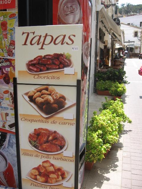 тапас испания что поесть