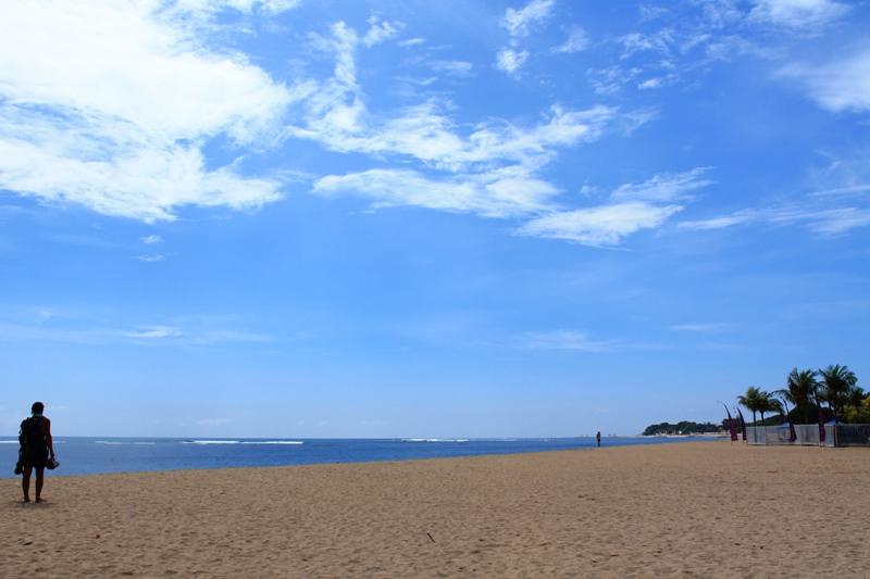 лучший пляж для купания на бали
