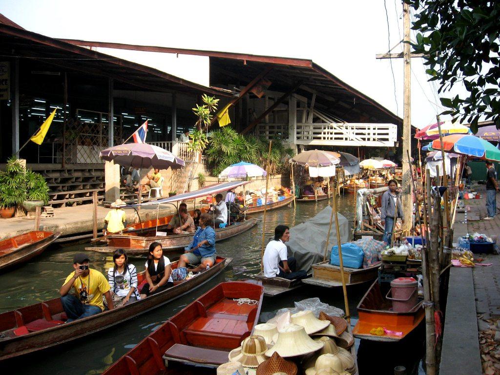 река квай плавучий рынок