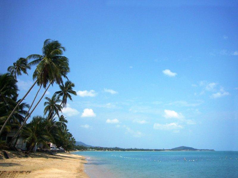 самуи пляж Маенам