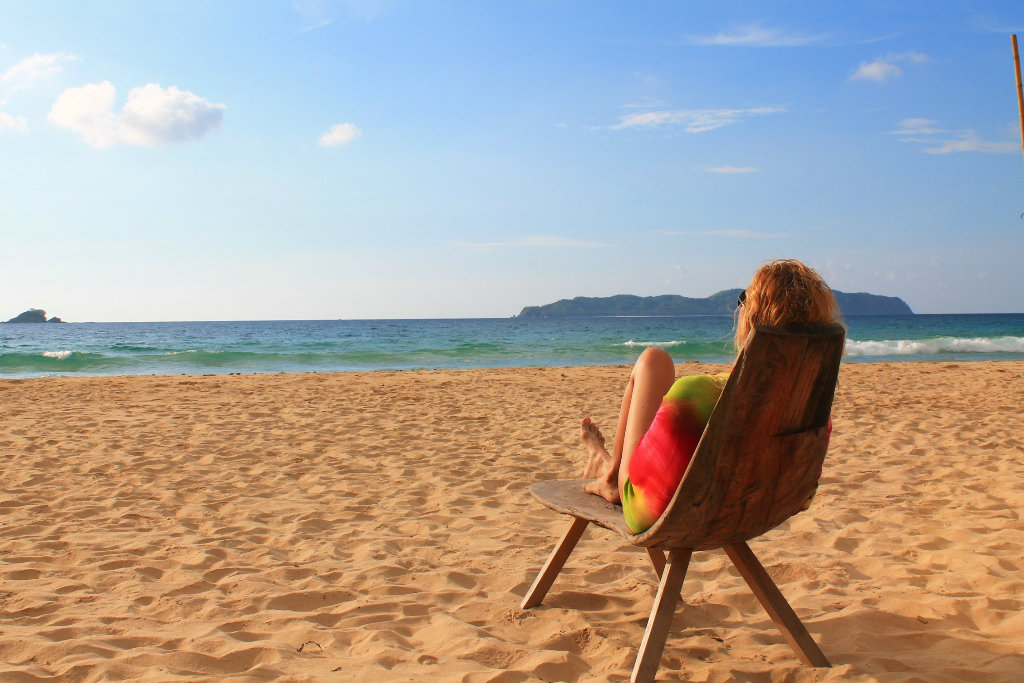 филиппины плаван пляж наспан бич