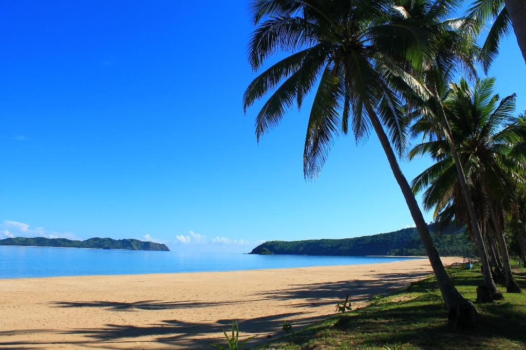 наспан бич лучший пляж на палаване
