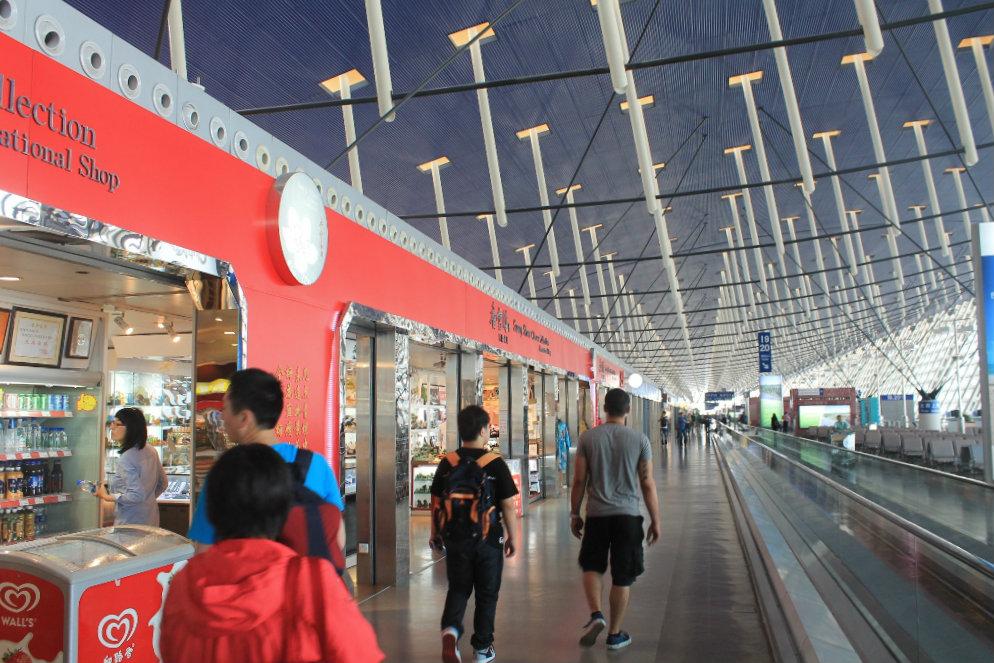 аэропорт шанхая стыковка