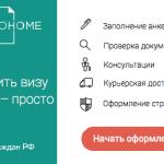 visatohome оформление визы онлайн получение