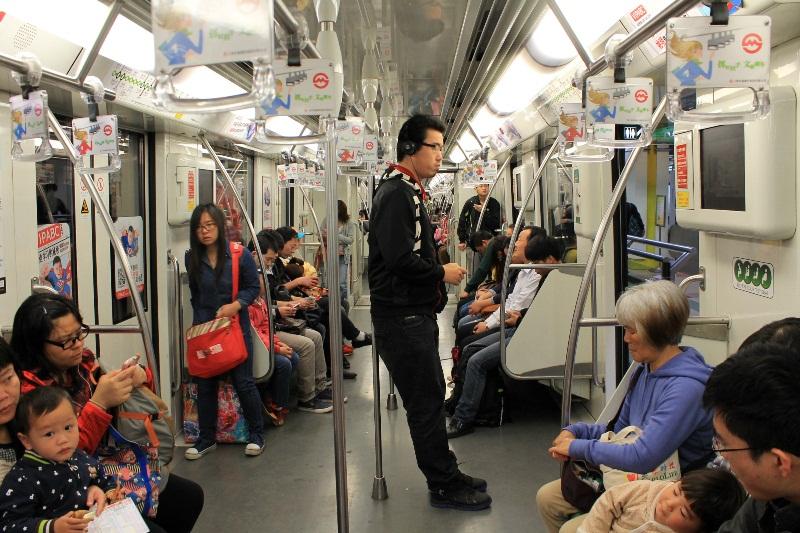 метро в шанхае