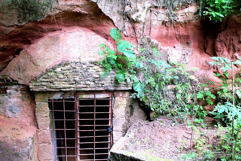 пещеры саблино левобережная 1