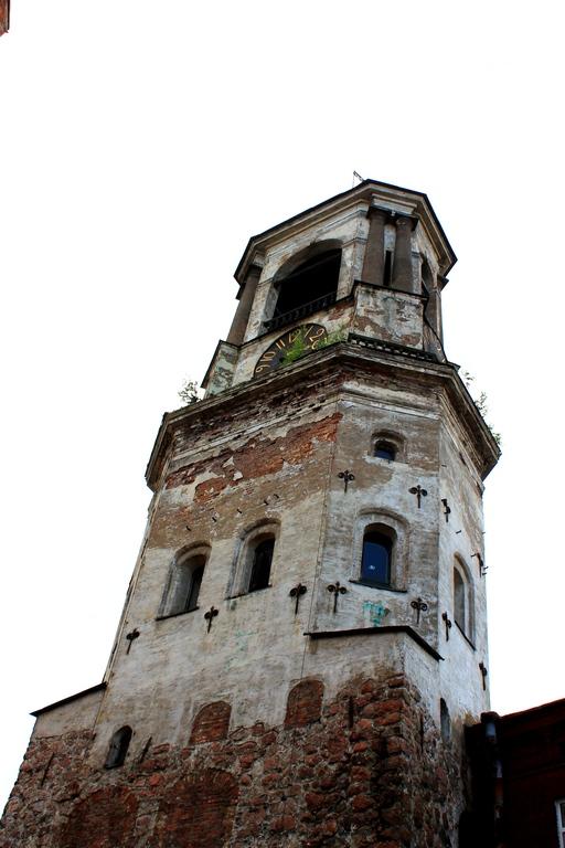 выборг часовая башня