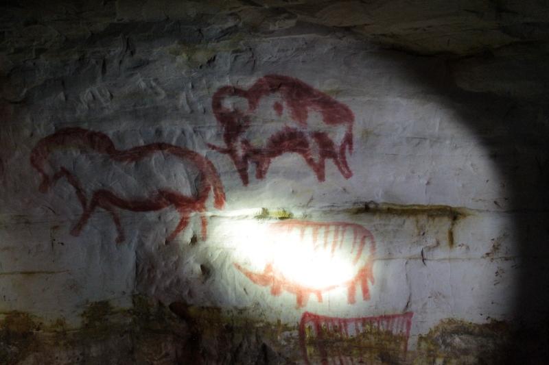 пещеры саблино