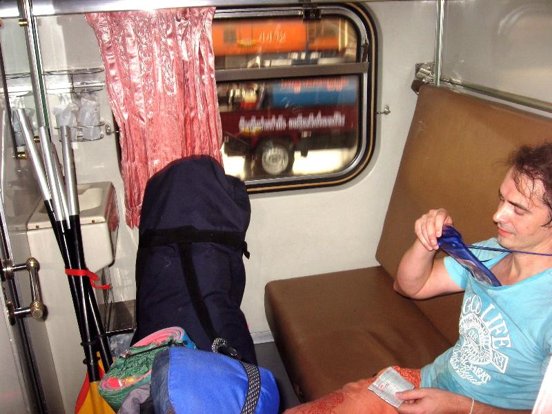 поезд в таиланде