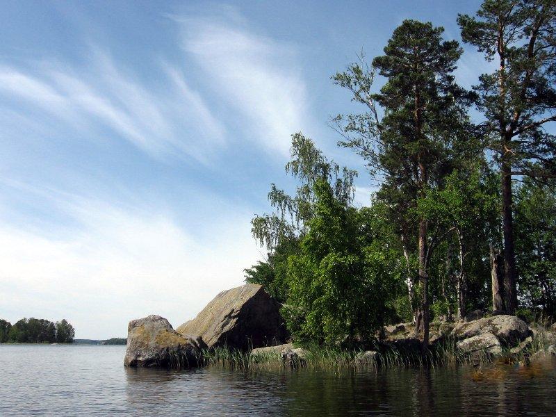 озеро вуокса приозерск