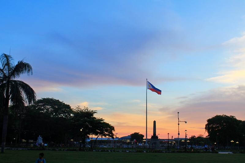 филиппины манила ризаль парк
