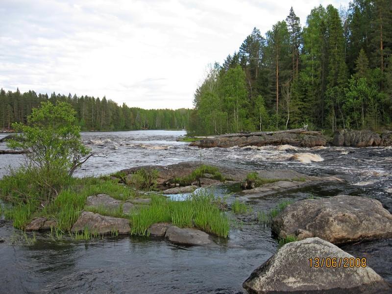 сплав по реке шуе карелия