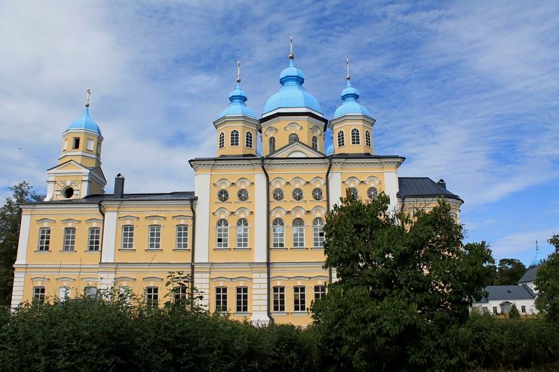 монастырь на ладоге