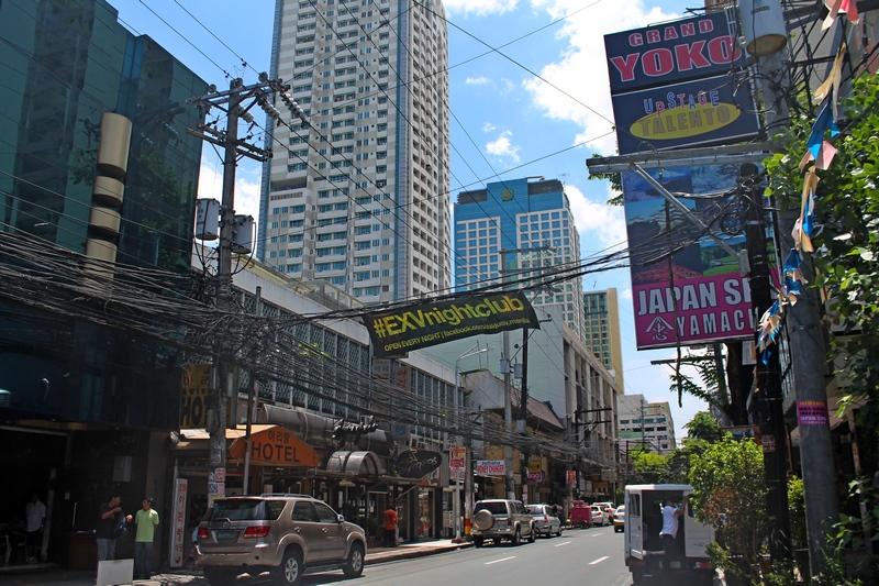 улицы манилы филиппины