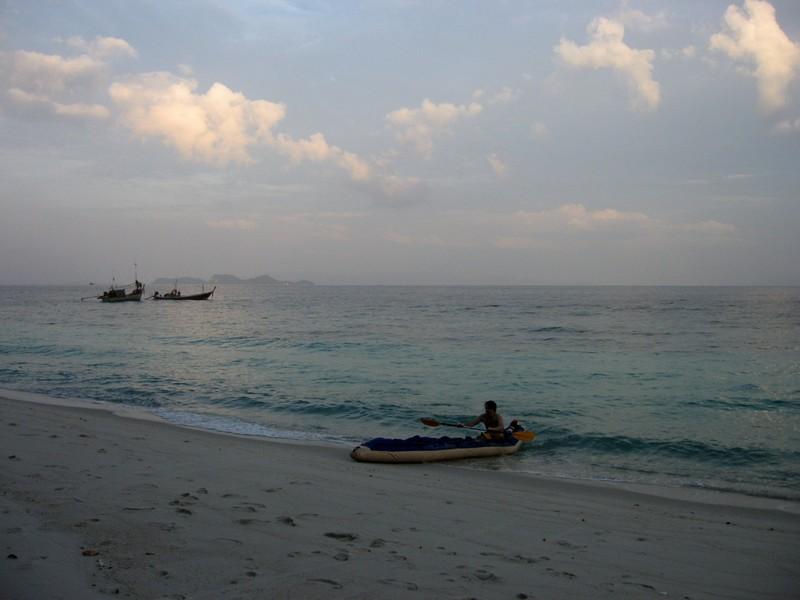 таиланд на байдарке