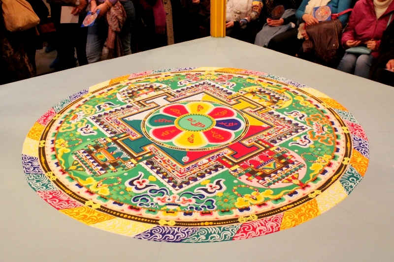 буддистская мандала фото