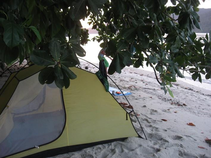 таиланд с палаткой