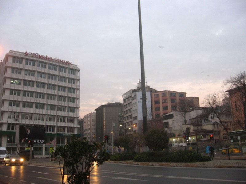 длительная стыковка в Стамбуле